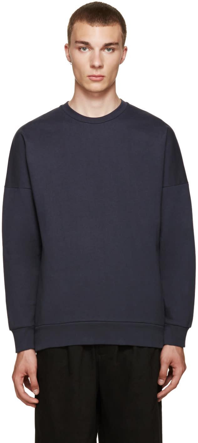 Acne Studios Navy Font Sweatshirt