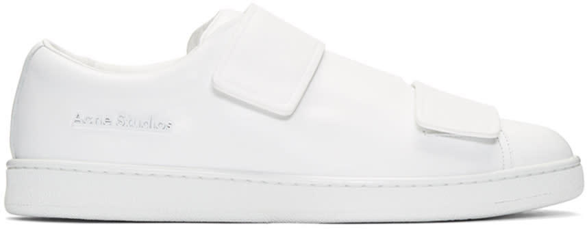 Acne Studios White Triple Lo Sneakers