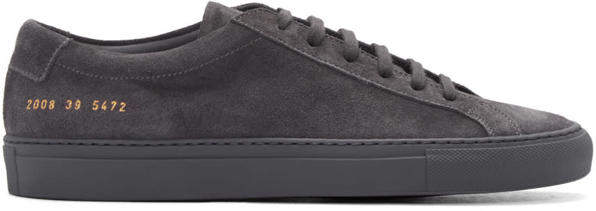 Common Projects Grey Original Achilles Sneakers