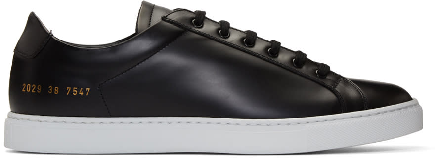 Common Projects Black Retro Sneakers