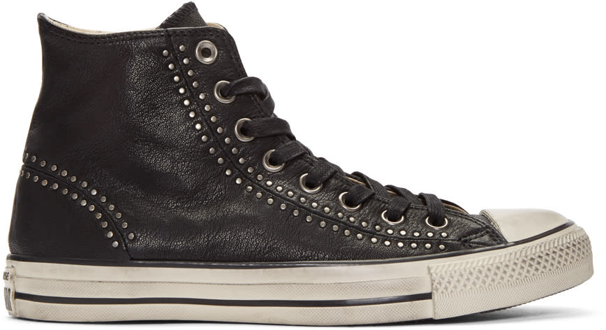 Converse By John Varvatos Black Chuck Taylor All Star Split Seam High-top Sneakers