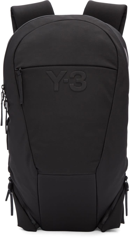 Y-3 Black Vest Backpack