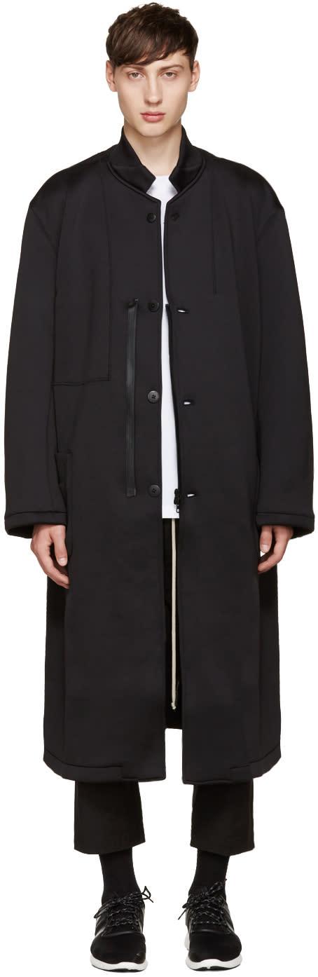 Y-3 Black Spacer Coat