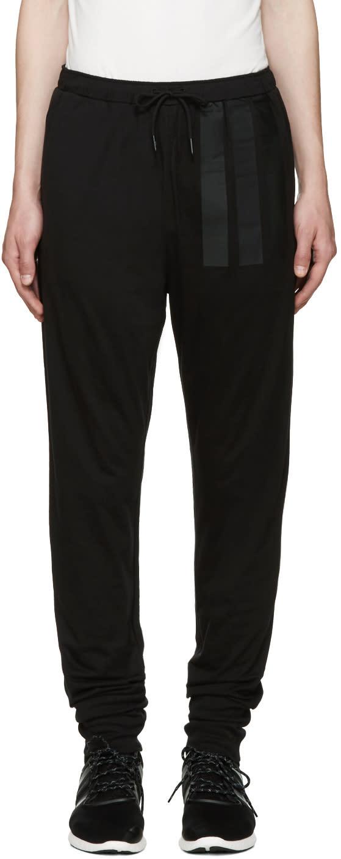 Y-3 Black Long John Lounge Pants
