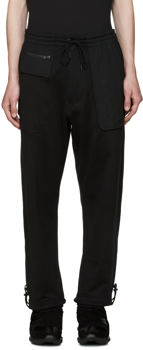 Y-3 Black Ft Mix Lounge Pants
