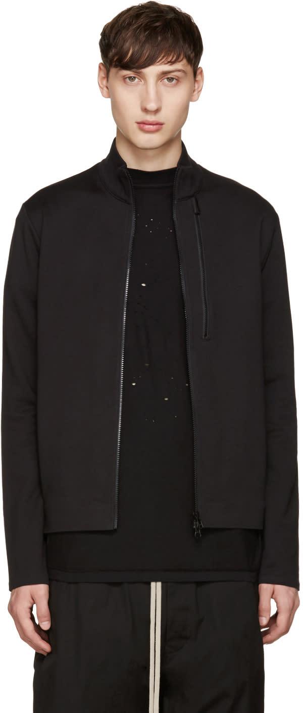 Y-3 Black 3s Ft Zip Sweater