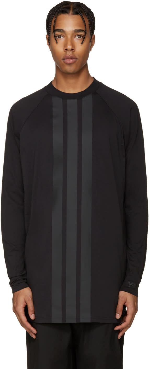 Y-3 Black Stripe T-shirt