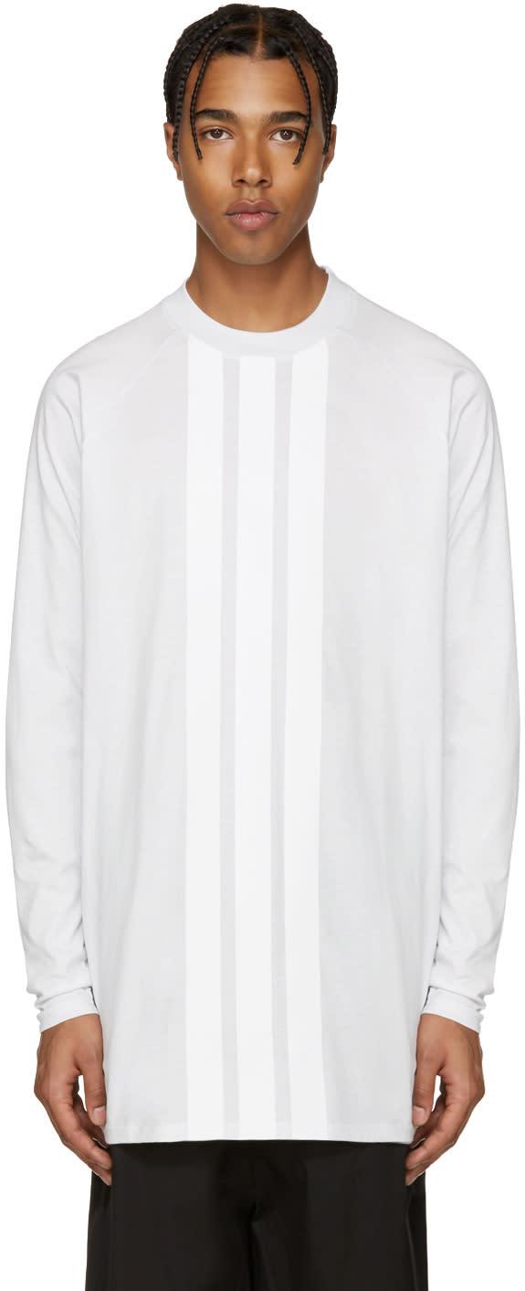Y-3 White Stripe T-shirt