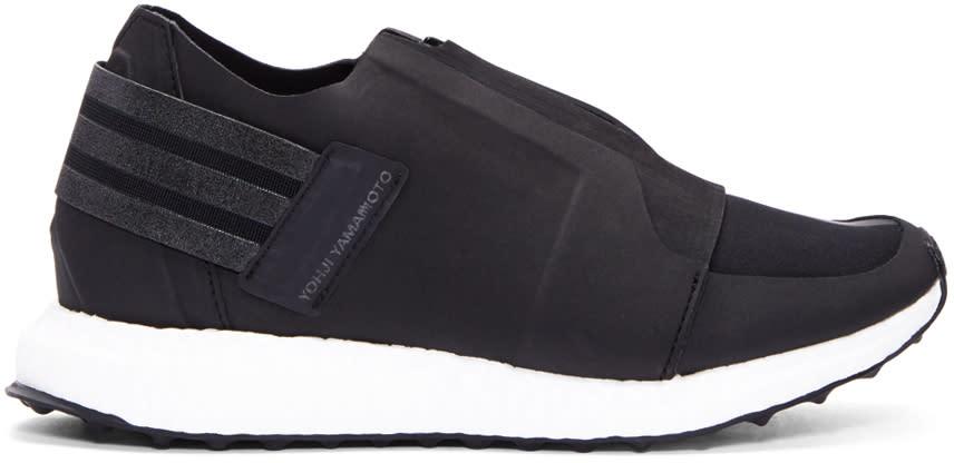 Y-3 Black Xray Zip Low Sneakers