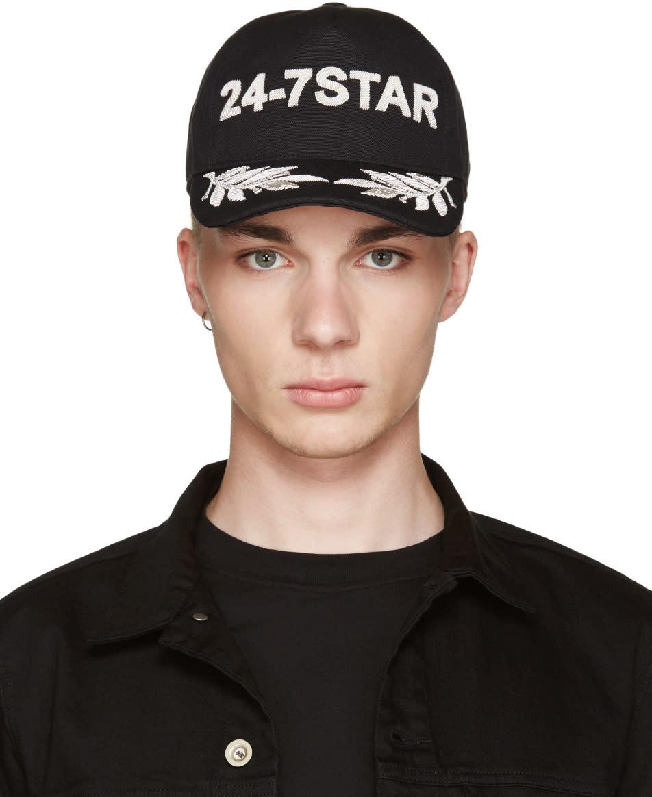 Dsquared2 Black 24-7 Star Cap