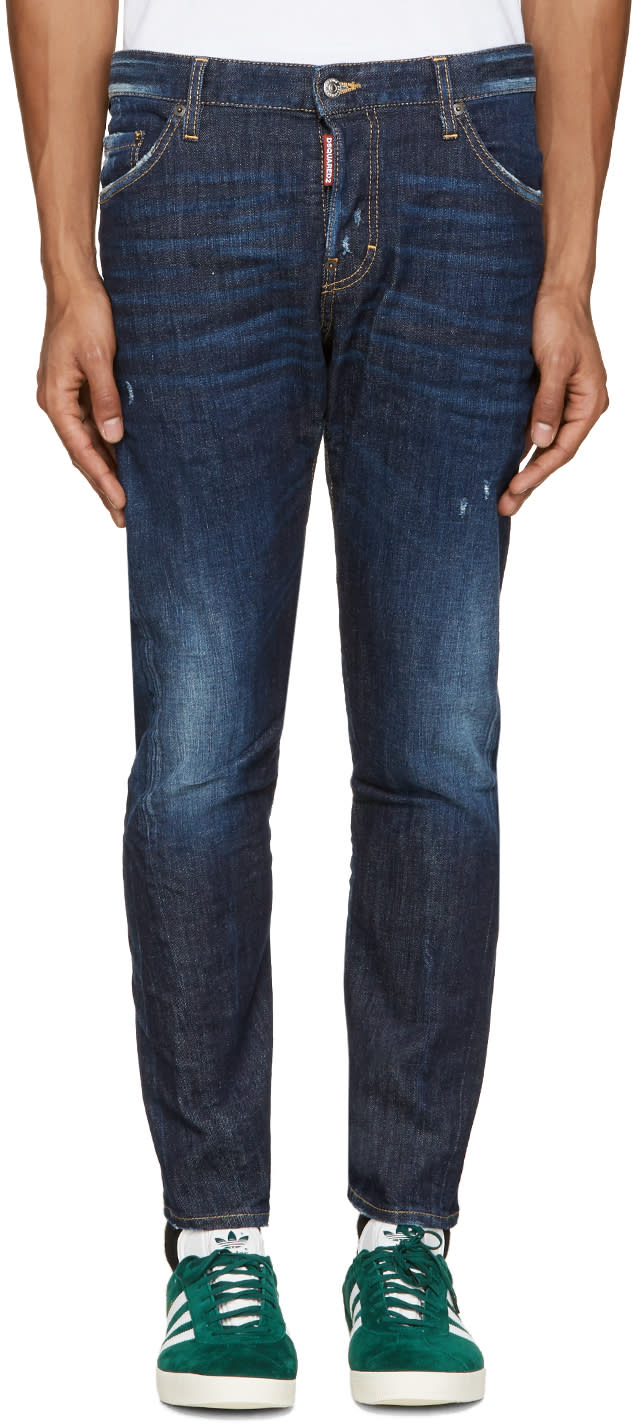 Dsquared2 Blue Everything Wash M.b Jeans