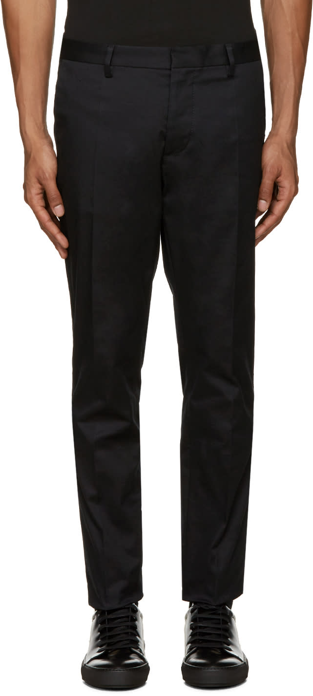 Dsquared2 Black Twill Tokyo Trousers