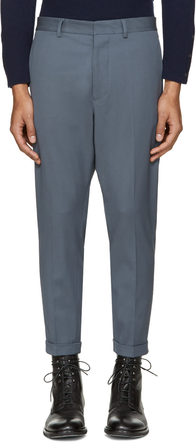 Dsquared2 Grey Hockney Trousers