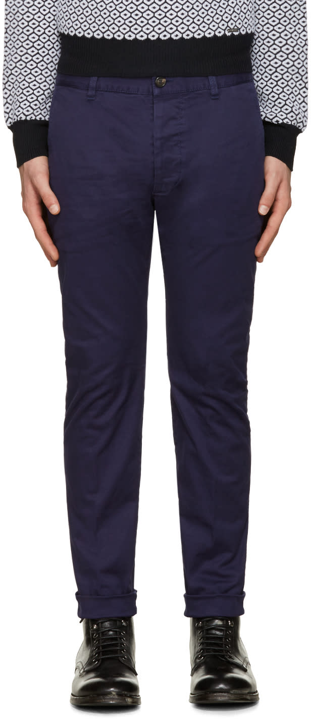 Dsquared2 Blue Twiggy Boy Trousers