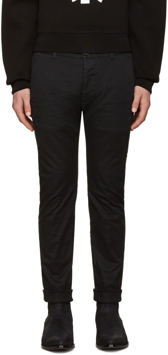 Dsquared2 Black Twiggy Boy Trousers