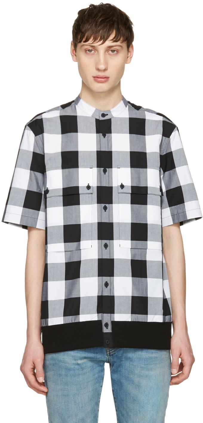 Helmut Lang Black Combo Ss Shirt