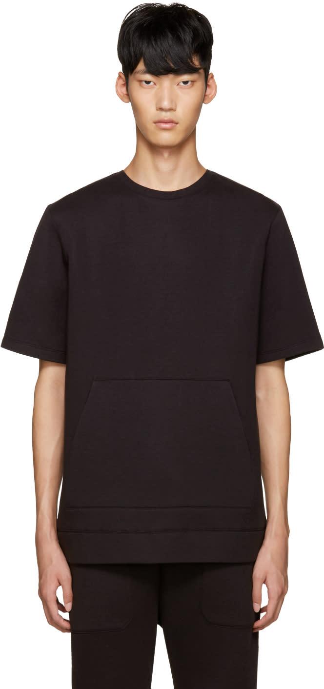Helmut Lang Black Oversized Pullover