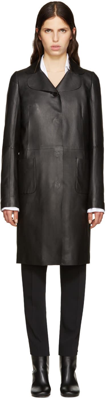 Maison Margiela Black Lambskin Jacket