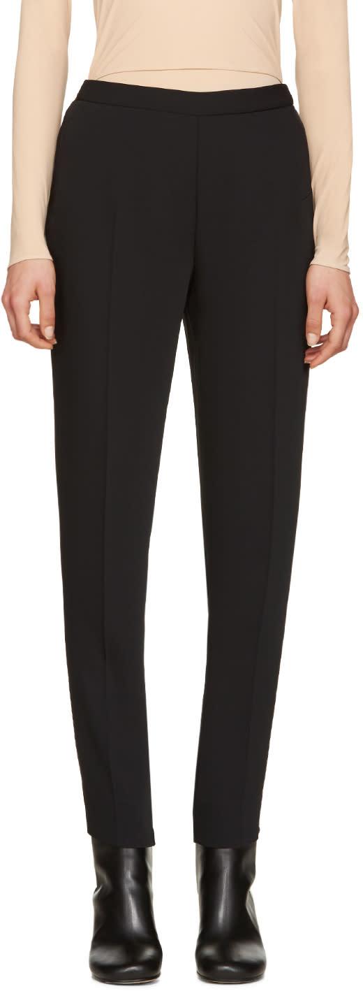 Maison Margiela Black Slim-fit Trousers