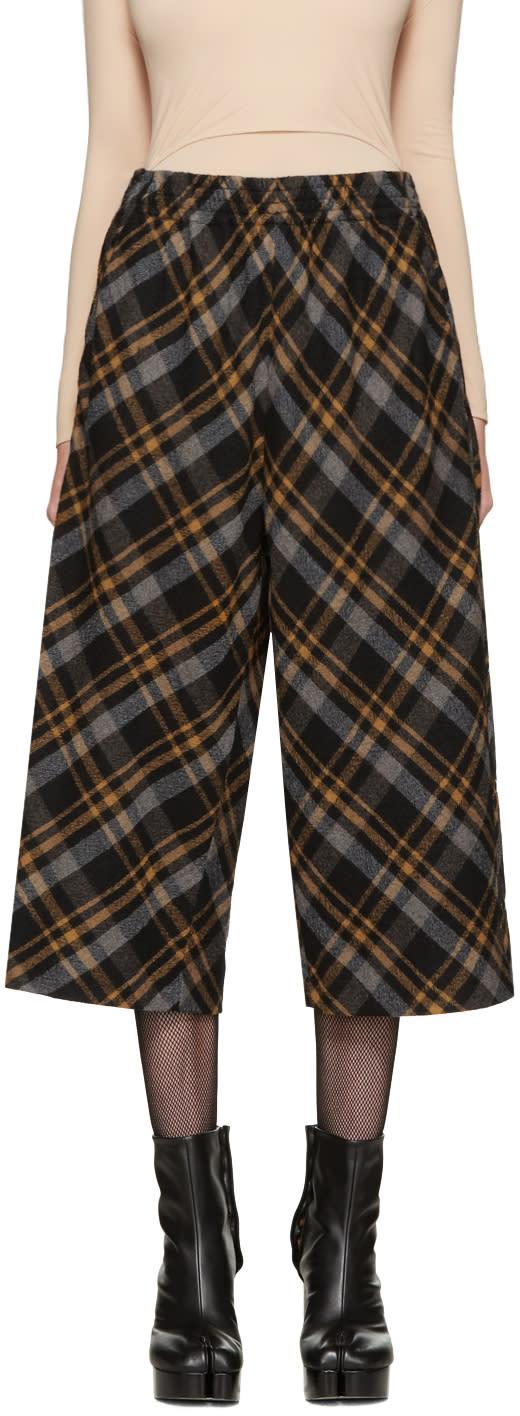 Maison Margiela Multicolor Tartan Trousers