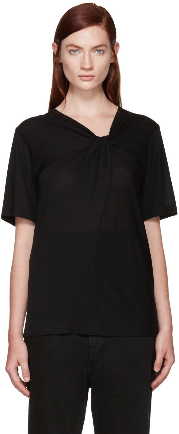 Maison Margiela Black Knot Twist T-shirt