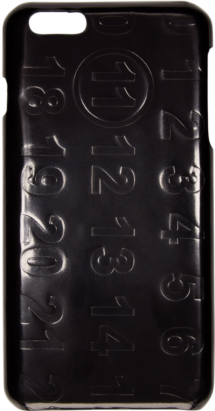 Maison Margiela Black Logo Iphone 6 Plus Case