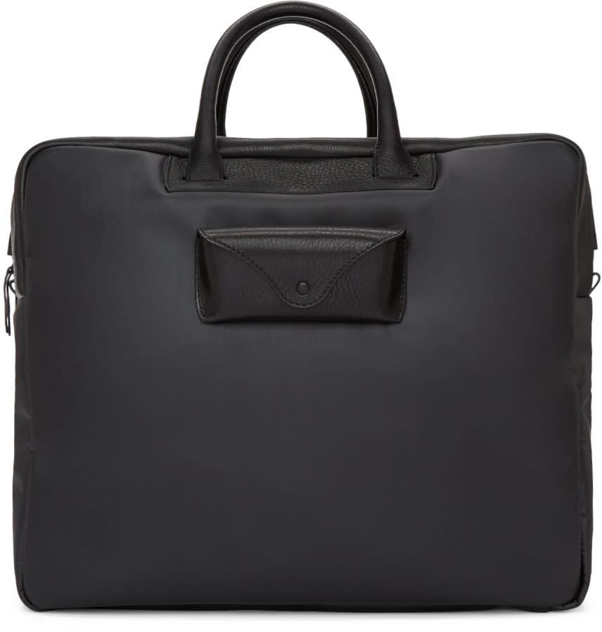 Maison Margiela Black Large Weekend Bag