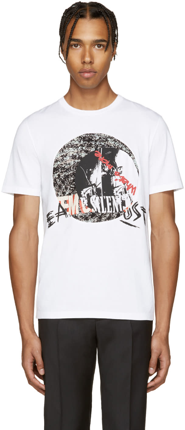ホワイト ミュージック Tシャツ