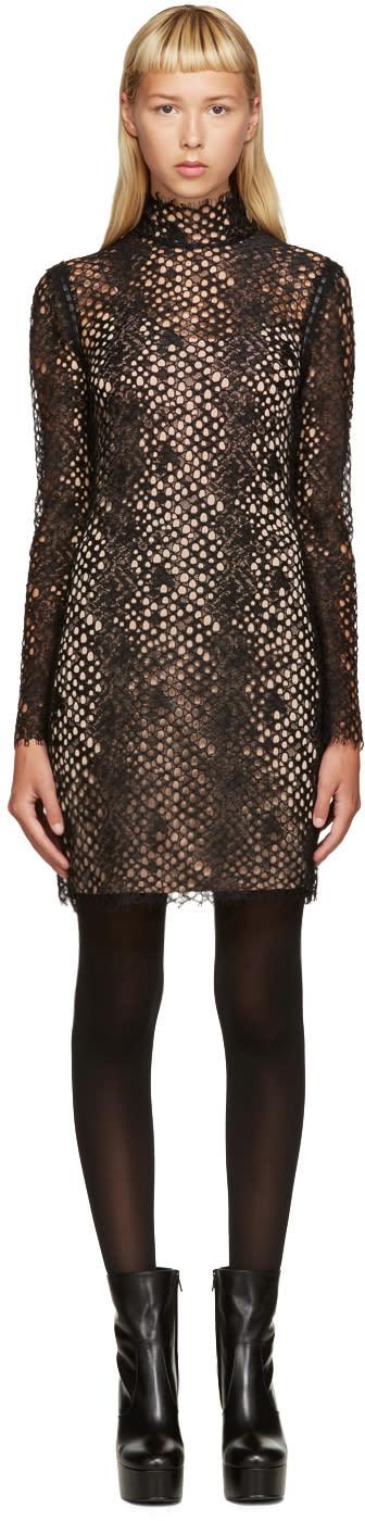 Alexander Wang Black Lace Dress