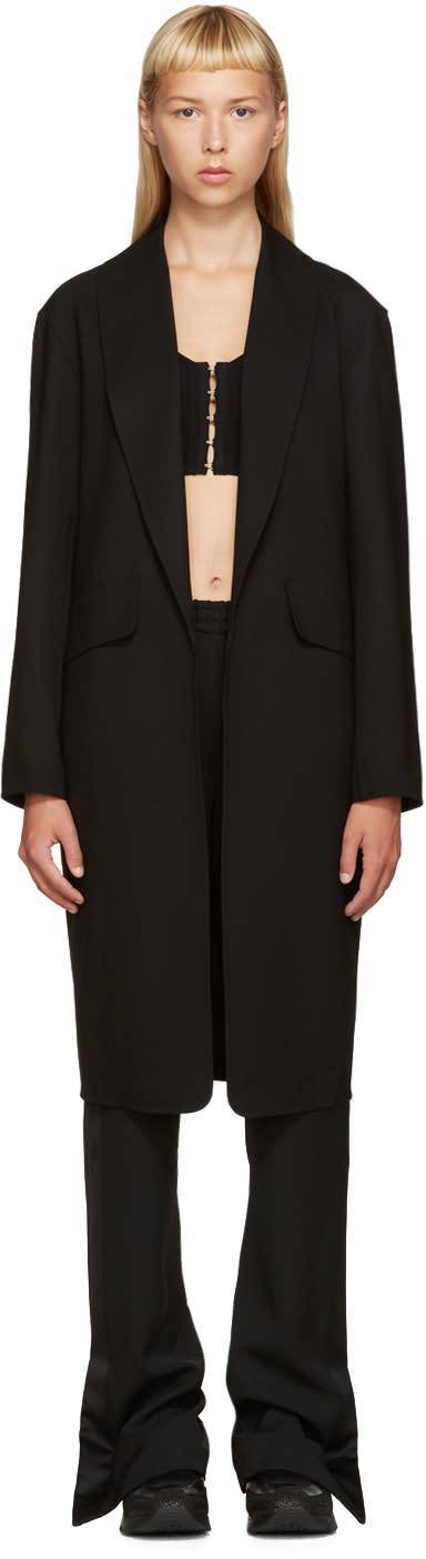 Alexander Wang Black Wool Coat