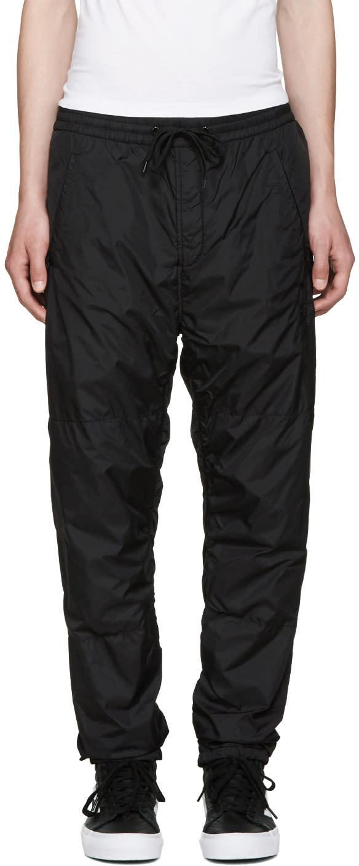 Alexander Wang Black Embroidered Track Pants