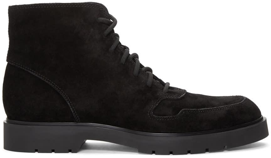Alexander Wang Black Suede Kaleb Boots