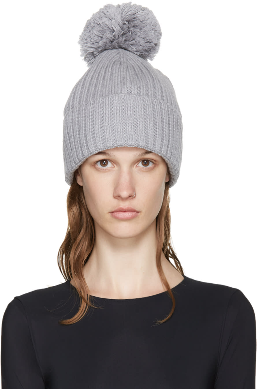 Mm6 Maison Margiela Grey Structural Beanie