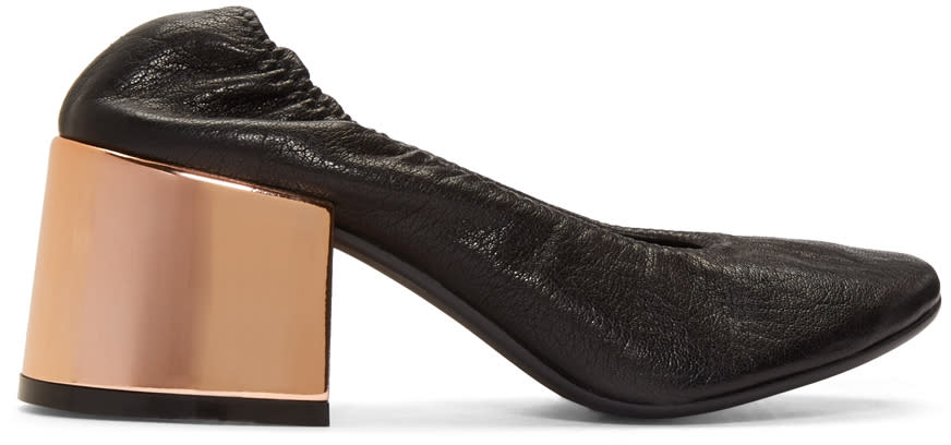 Mm6 Maison Margiela Black Ballet Heels