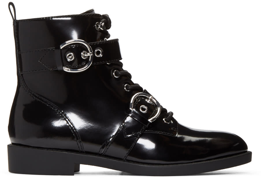 Marc Jacobs Black Taylor Boots