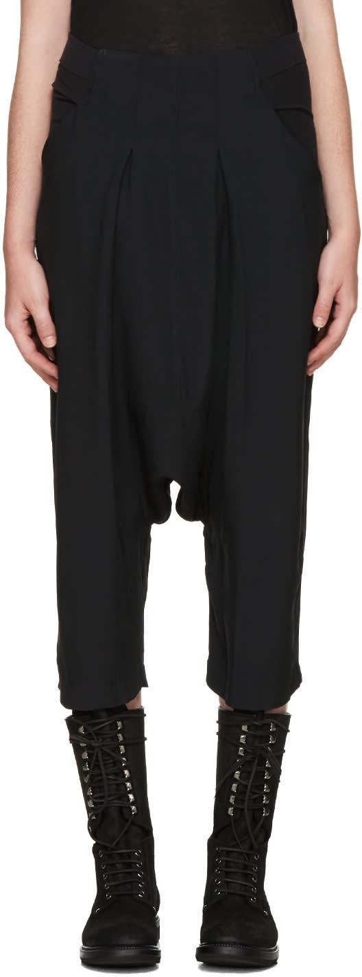 Rick Owens Black Sarouel Trousers