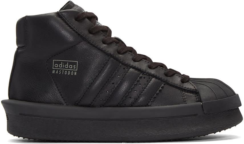 Rick Owens Black Adidas Edition Mastodon Sneakers
