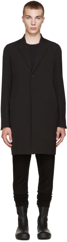 Rick Owens Black Pharmacy Coat