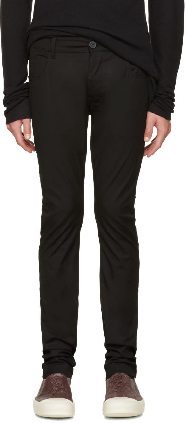 Rick Owens Black Detroit Trousers