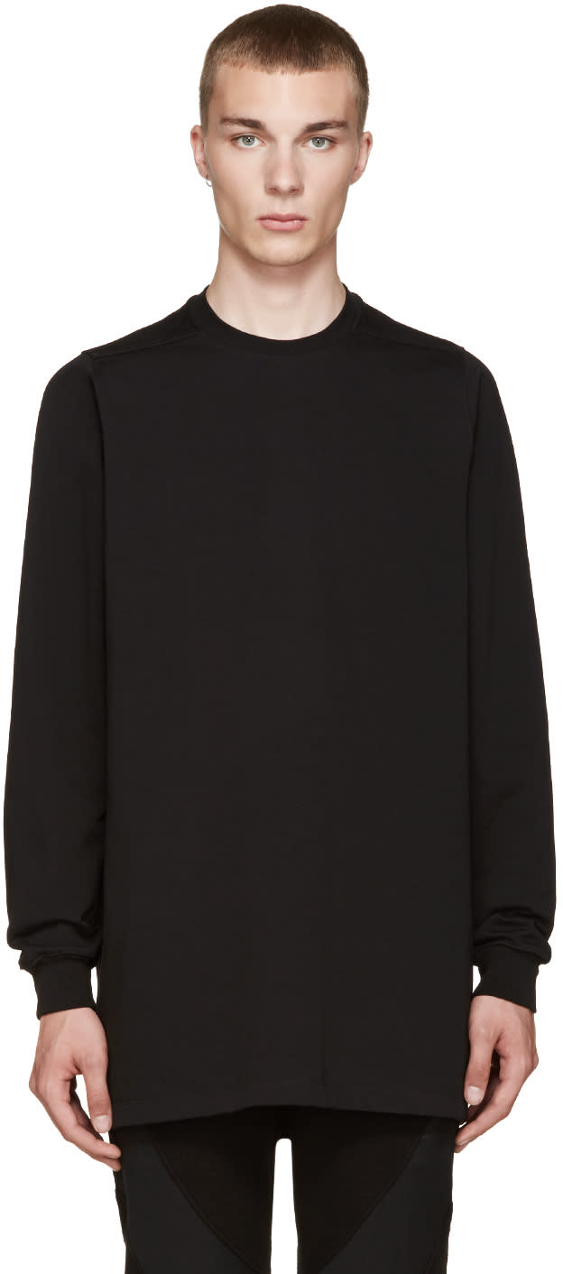 Rick Owens Black Overlong Pullover