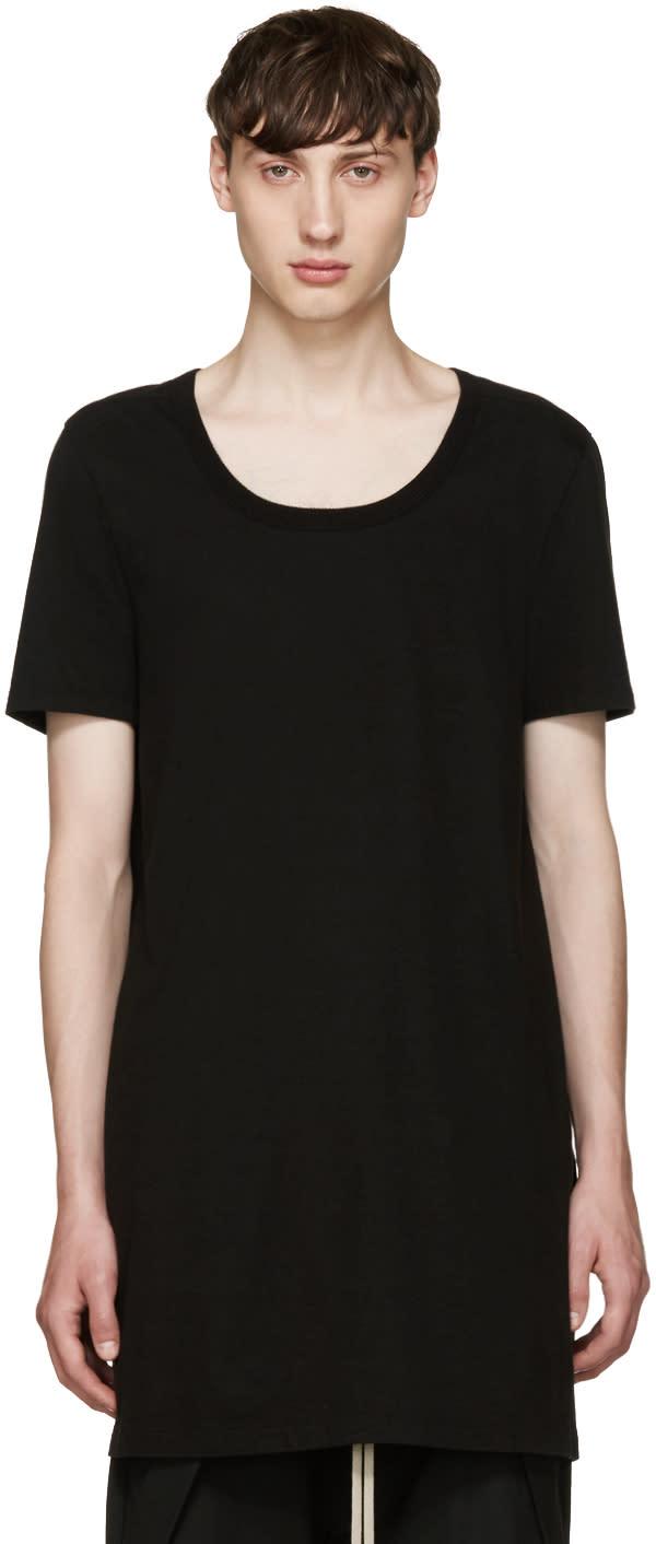 Rick Owens Black Mastadon T-shirt