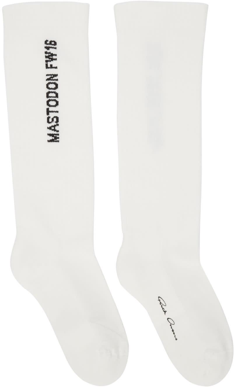 Rick Owens Off-white Mastodon Socks
