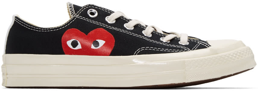 Comme Des Garcons Play Black Converse Edition Low-top Sneakers