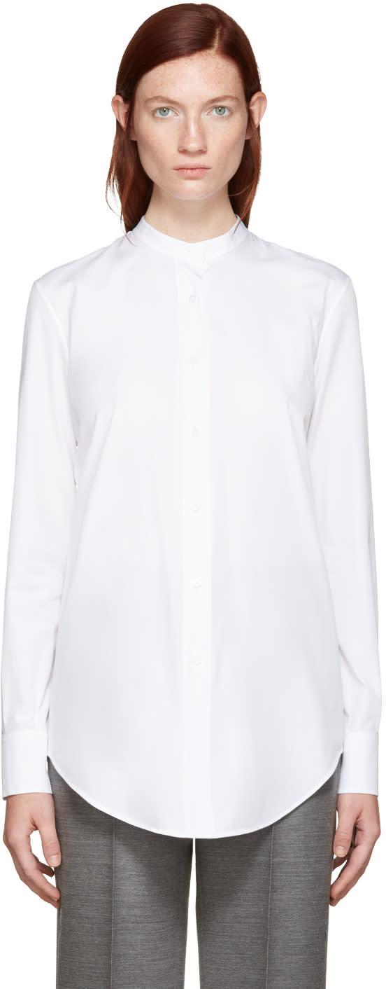 Jil Sander White Bernadette Shirt