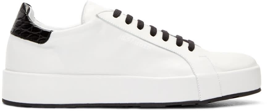 Jil Sander White Miro Sneakers