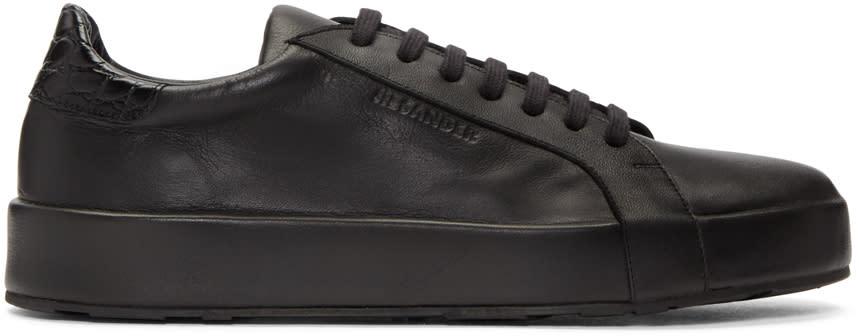 Jil Sander Black Miro Sneakers