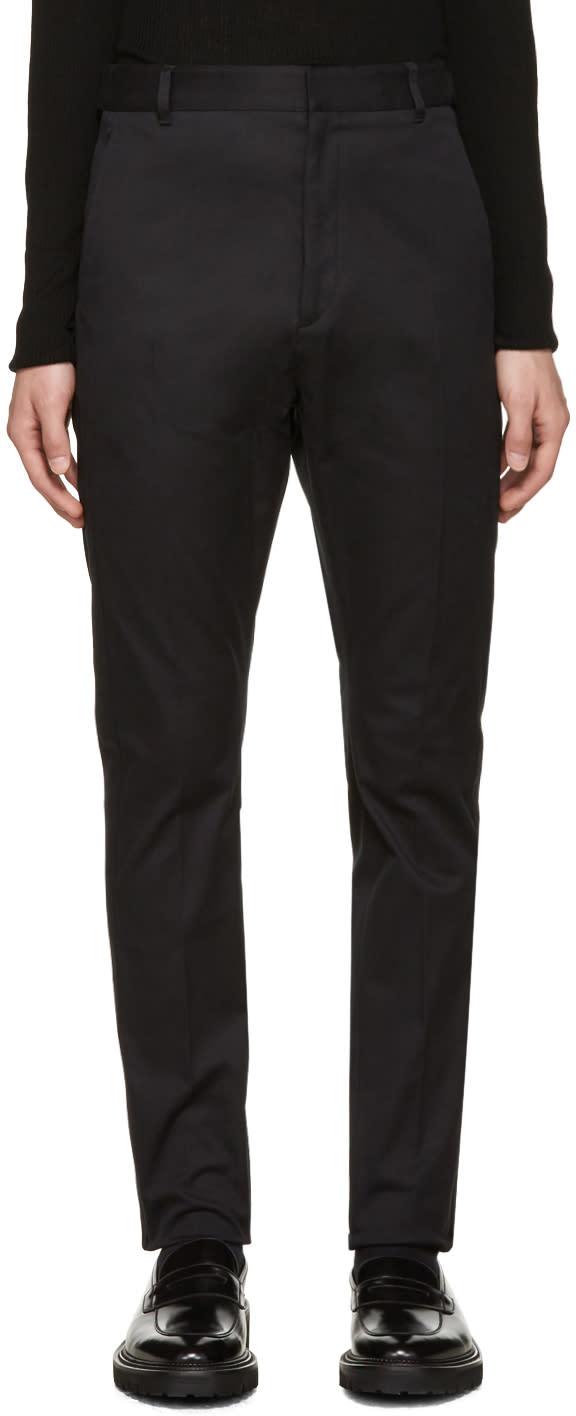 Jil Sander Black Liam Trousers