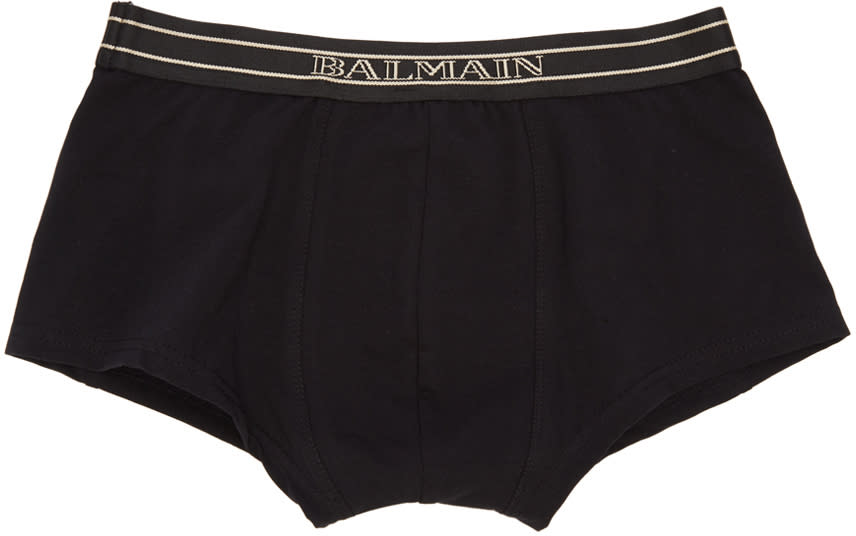 Balmain Three-pack Tricolor Boxer Briefs