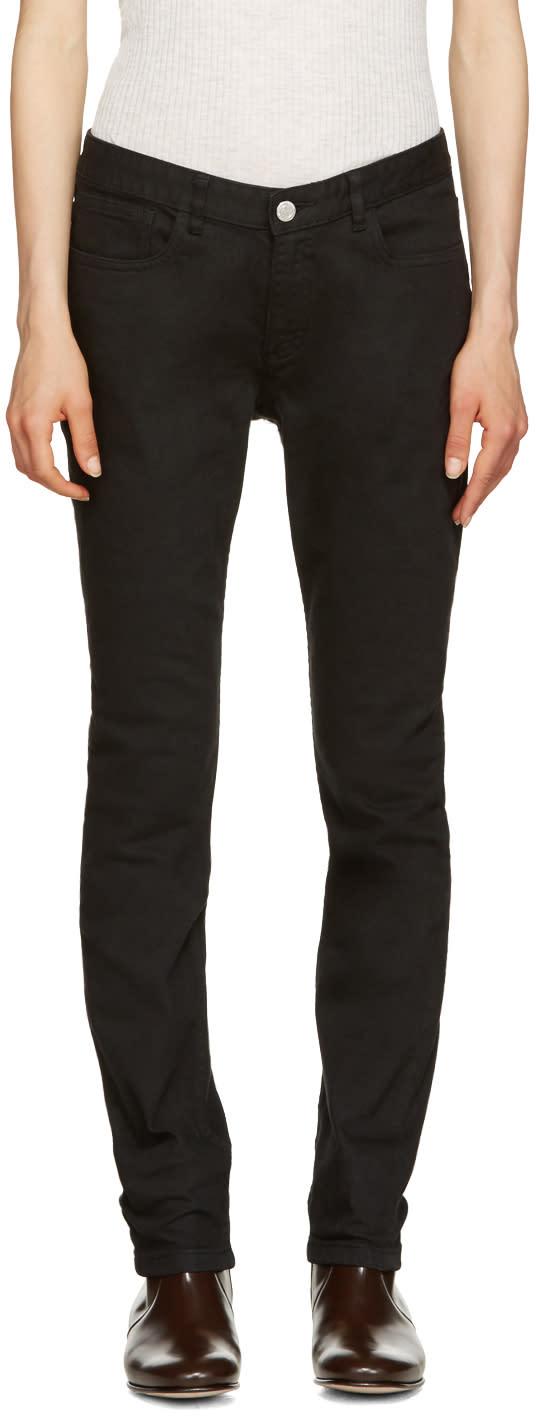 A.p.c. Black Moulant Jeans