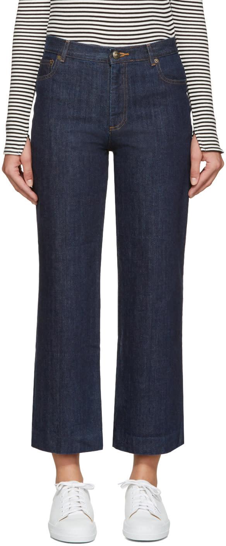 A.p.c. Blue Sailor Jeans